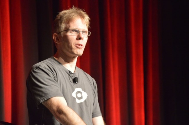 OculusのCTO、John Carmack