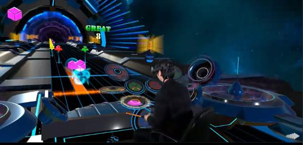 VR版ドラムマニア「Drums Hero」、VR酔いなしで楽しめるドラム音ゲーをご紹介!