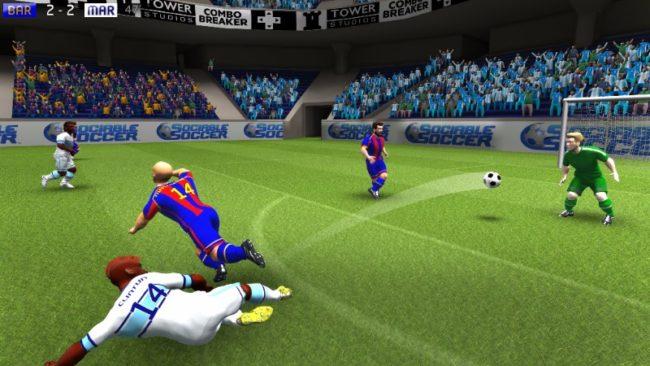 サッカーアクションゲーム「Sociable Soccer」VR対応版がリリース予定