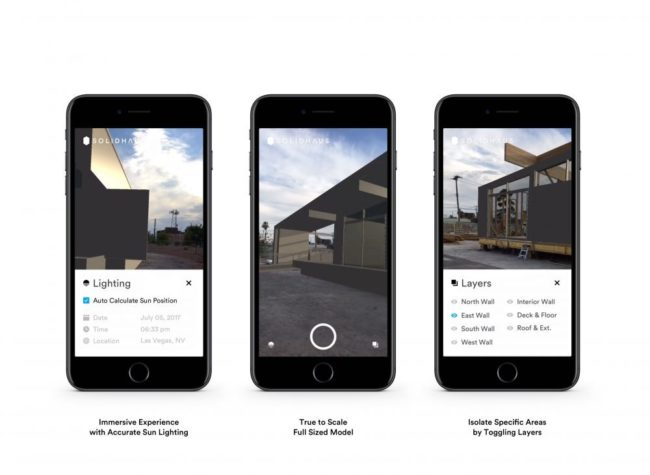 SolidhausのARアプリ