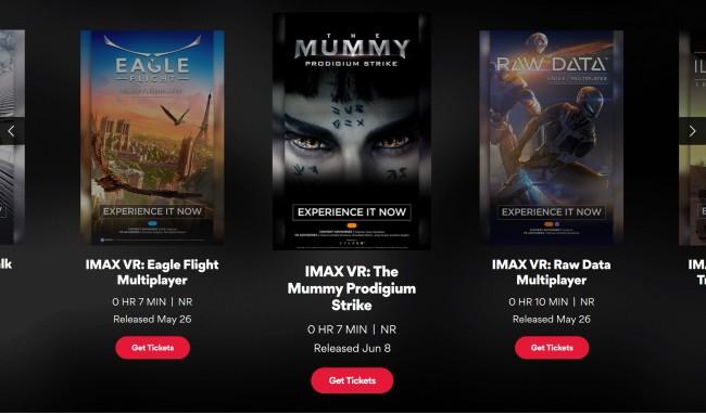 IMAX VR-contens