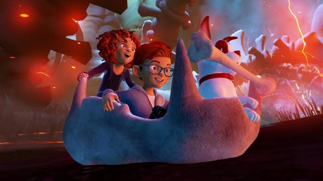 Virtual Reality Company Raising a Rukus Family Scene