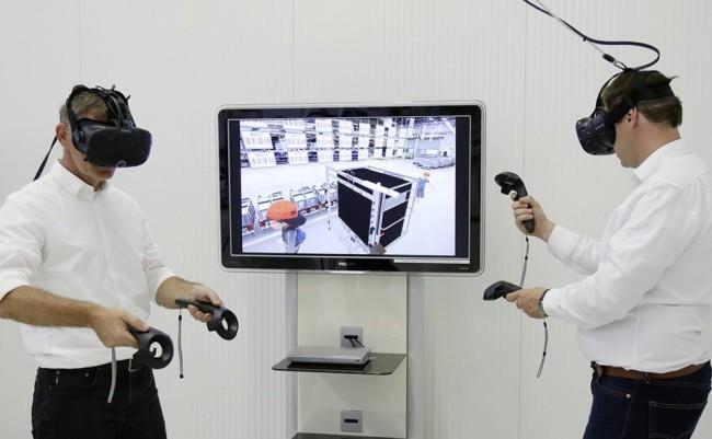VRでトレーニング