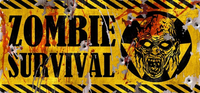 Zombie Survival Sign