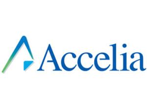 VR企業,accelia ,企業ロゴ