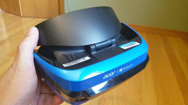 AcerのWindows MRヘッドセット