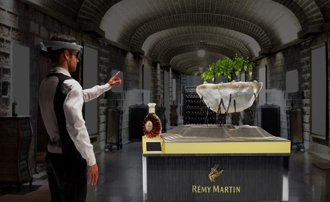 コニャック「レミーマルタン」、複合現実(MR)を用いたブランド体験プロジェクトを開始