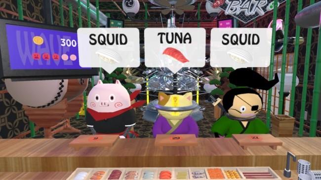 寿司職人シミュレーションゲーム『VR SUSHI BAR』をSTEAMで配信開始