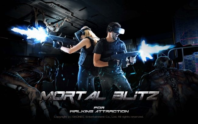 『MORTAL BLiTZ FOR WALKING ATTRACTION』イメージ
