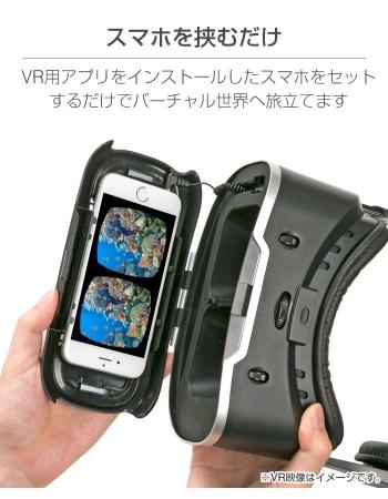 VR SHINECONヘッドフォン付きヘッドセット特徴