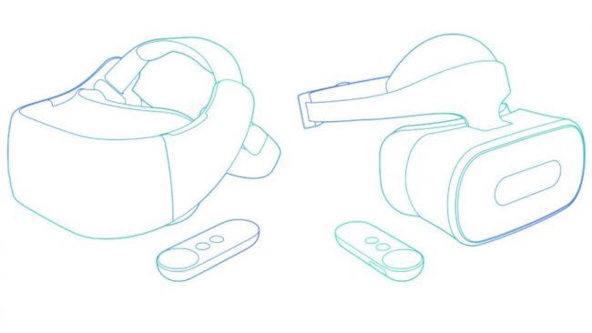 Daydreamの独立型ヘッドセット