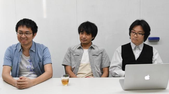 左から 岩田氏、松竹氏、赤塚氏