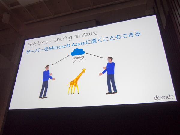 de:code 2017 セッション「クラウドと AI の力を組み合わせたMicrosoft HoloLens のさらなる可能性」