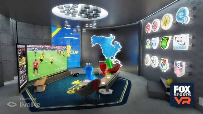 Fox Sportsのバーチャルスイートルーム
