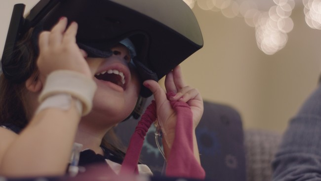 Honda Uses Virtual Reality to Bring Holiday Cheer to Pediatric Patients