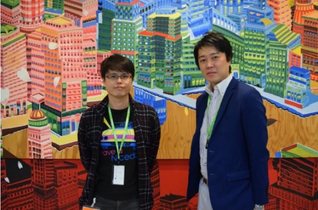 代表・吉田直人(右)、衣川敦亮(左)