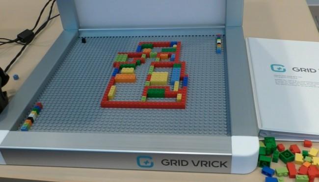 レゴを使った間取り作り。