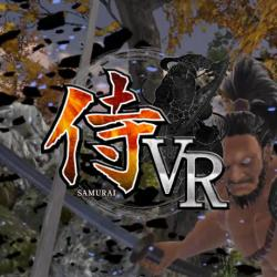 SAMURAI VR タイトルロゴ