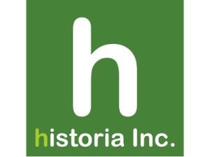 VR企業, historia Inc,企業ロゴ