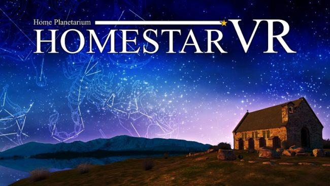 360度に広がる満天の星をGear VRで体感できる新感覚プラネタリウムアプリ『ホームスターVR』配信開始!