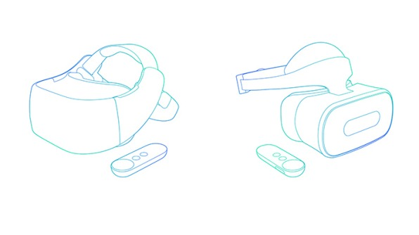 GoogleのDaydreamVRヘッドセット
