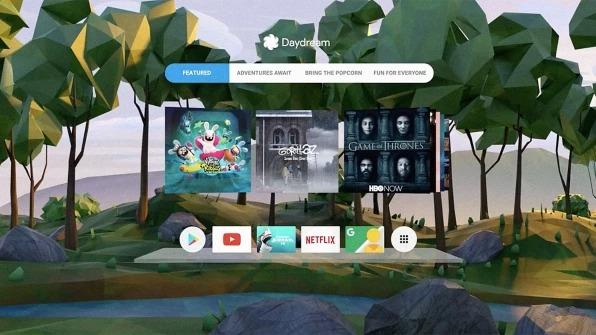 Daydreamホーム画面