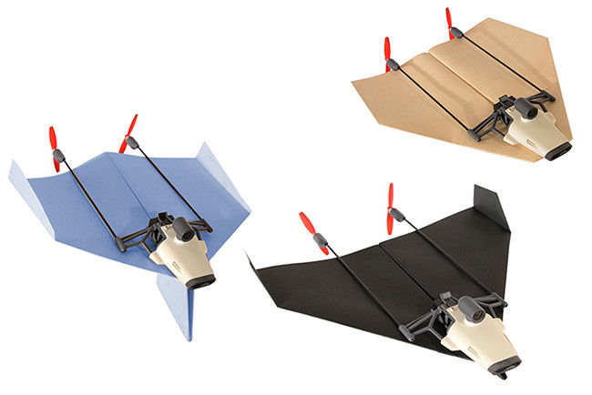 デザイン自由自在 紙飛行機取り付け時の画像