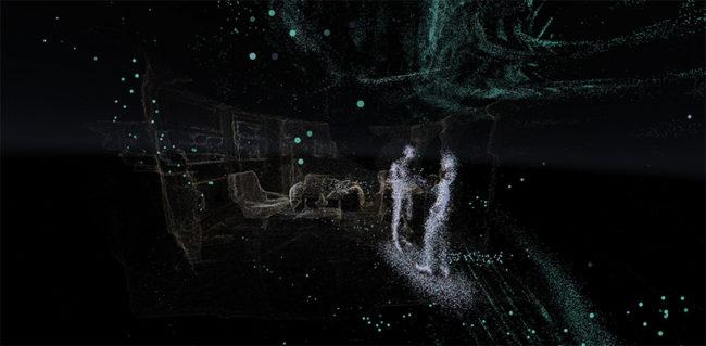 3Dスキャンされた風景