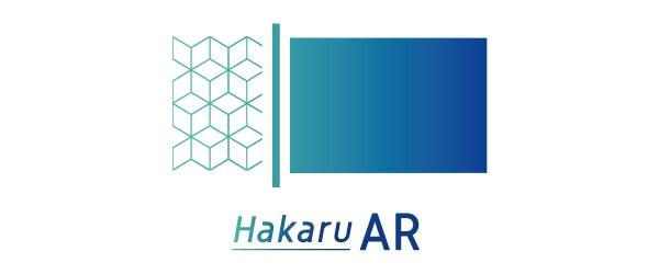 Androidアプリ「HakaruAR β版」ロゴ