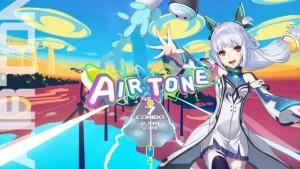 新感覚VRエアーリズムアクションゲーム「Airtone」イメージ