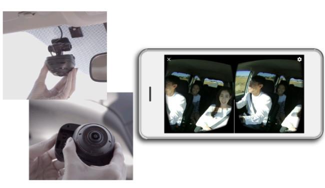 『ダクション 360』と『d'Action VR』でのVR映像