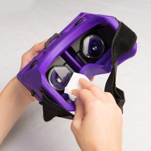 Merge VR Gogglesは清潔に保ちやすい