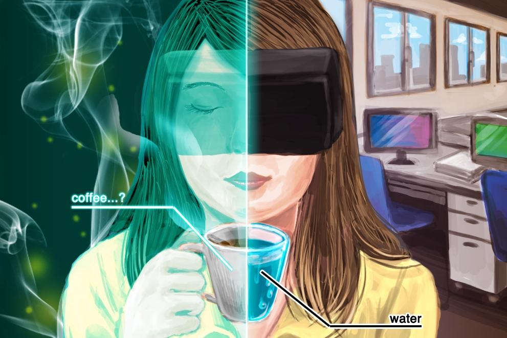 VRで味覚を騙す取り組み