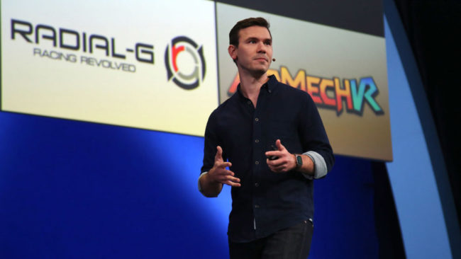 OculusのNate Mitchell