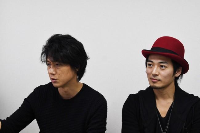 左から安藤氏、恵水氏