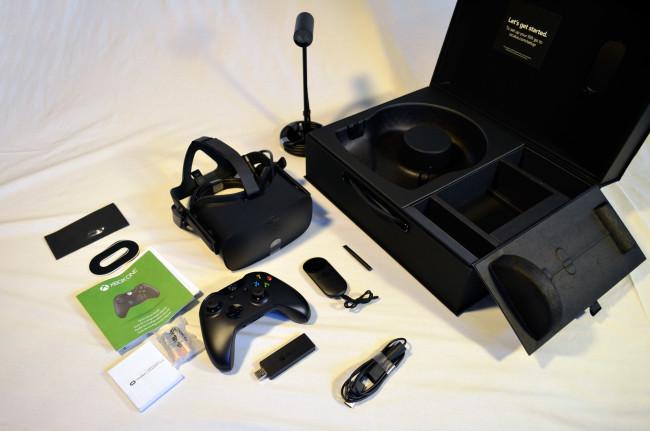 Oculus Riftのセット内容