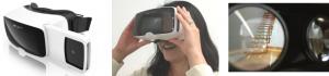 カールツァイス社製ヘッドマウントディスプレイ 「VR One Plus」