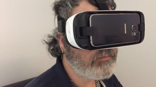 VRでセッションを行うBreton