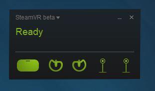 RiftがSteam VRを認識