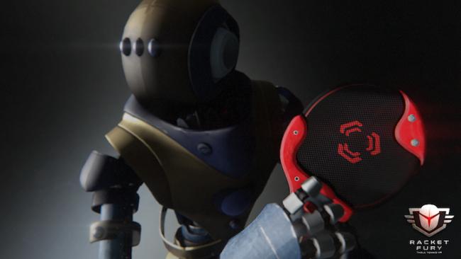 スピード感や操作性を見事に再現!ロボットたちが織りなすVR卓球ゲーム『Racket Fury』
