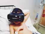 VRゲームで不安を紛らわせる