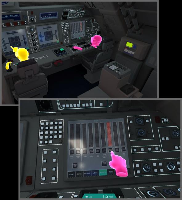 VRで潜水艦の操作をトレーニング
