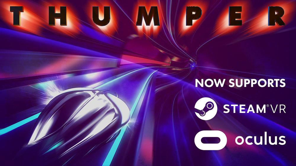 VRゲームThumper,イメージ