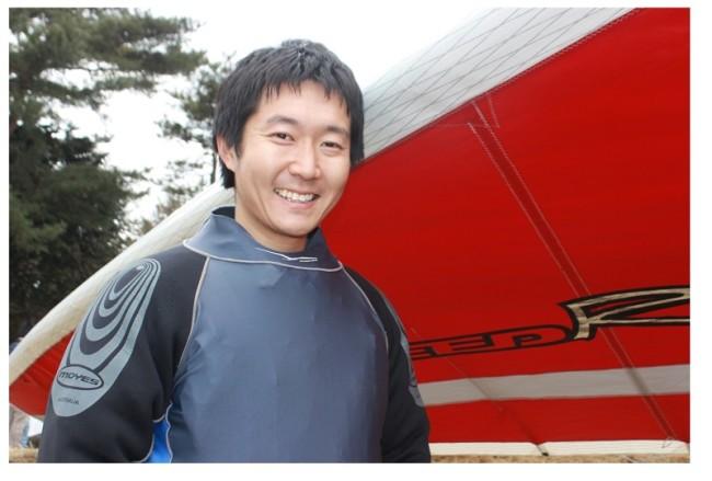 ハンググライダー日本代表選手鈴木由路(すずき・ゆうじ)さん
