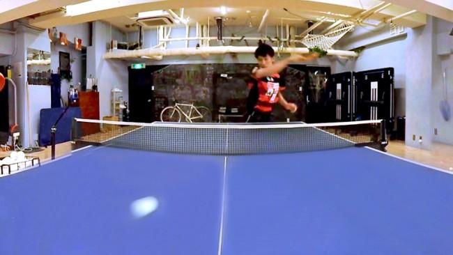 メダリスト「吉村真晴」選手のスマッシュを至近距離で体験できるVR動画を360Channelで配信開始