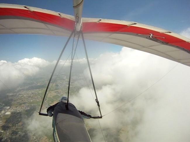 ハンググライダー体験(イメージ)