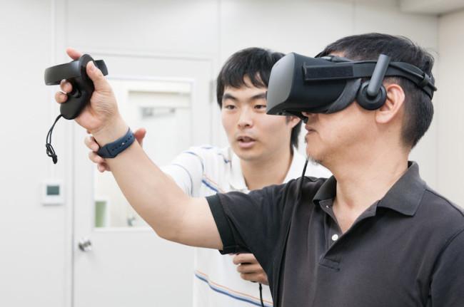 VRコンテスト体験会の様子