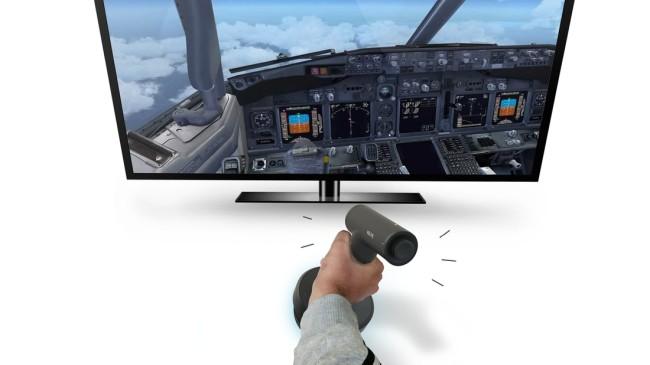 操縦桿として利用する