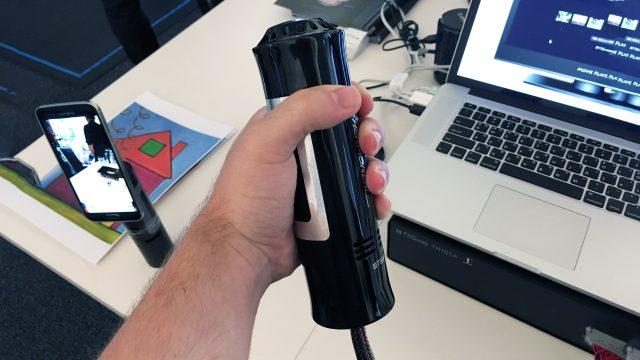 ThermoRealプロトタイプデバイス