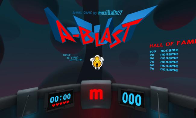 A-BlastはWebVRで動作する